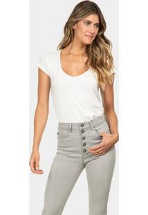 Calça Skinny Cropped Aruba Elastic Jeans - Lez A Lez