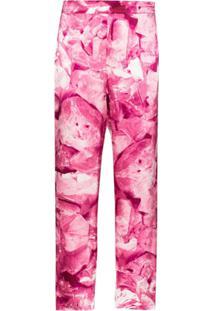 Märta Larsson Calça De Pijama Ripley Com Estampa Floral - Rosa