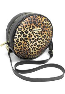 Bolsa Redonda Feminina Lisa Mini Bag Transversal - Onã§A - Feminino - Dafiti