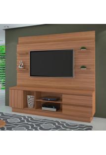 Estante Para Home Theater E Tv Até 60 Polegadas Buran Naturale