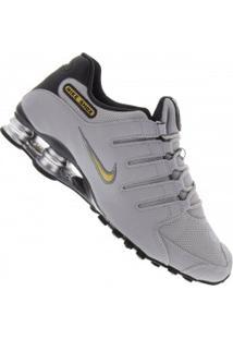 Tênis Nike Shox Nz Si - Masculino - Cinza Claro