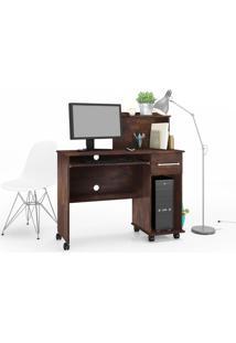 Mesa Para Computador Studio Noce