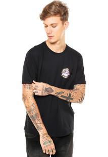 Camiseta Rusty Mayan Preta