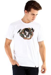 Camiseta Ouroboros Branca De Neve Branco