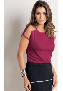 35977af9e Blusa Moda Pop Ombro feminina | Gostei e agora?