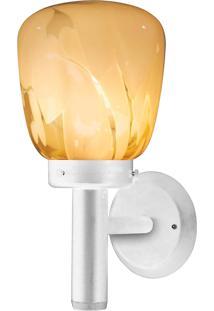 Arandela Taschibra Thor 800 Tocha Bivolt 1 Lâmpada Led Branca/Âmbar
