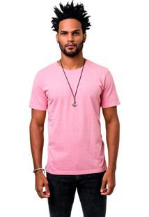 Camiseta Manga Curta Dom Romeu Estonada Rosa