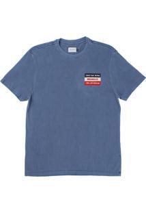 Camiseta Wrangler Azul 22060