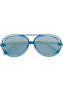 Karen Walker Óculos De Sol 'Jacques' - Azul