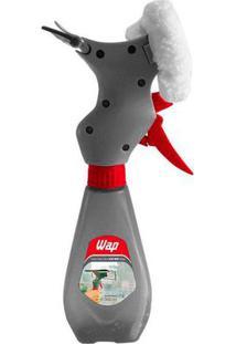 Rodo Mop Spray Limpa Vidros 3 Em 1 Com Reservatório 300Ml Wap Cinza