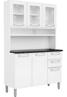 Cozinha Compacta Cecil Ii 6 Pt 2 Gv Branca