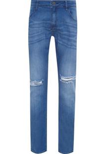 Calça Masculina Skinny Maribo - Azul