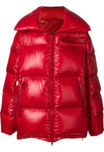 Calvin Klein 205W39Nyc Jaqueta Matelassê - Vermelho