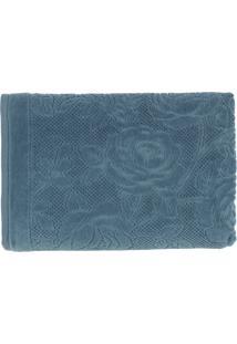 Toalha De Banho Charlote 66X140 - Karsten - Azul Petróleo
