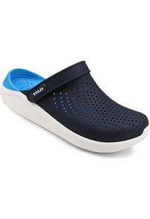 Sandália Crocs Literide Clog - Feminino-Azul Escuro