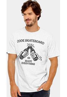 Camiseta Code Skateboard Cerveza Masculina - Masculino