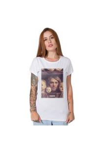 Camiseta Stoned Kurt Kobain Branca