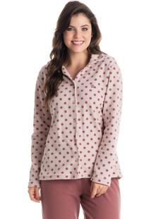 Pijama Nicole Abotoado