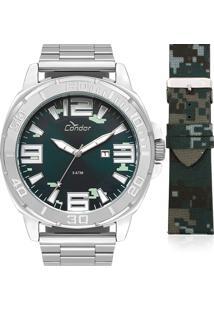 9a6c5aae633 ... loja  + info Relógio Condor Masculino Troca Pulseira Co2115Kua T3A