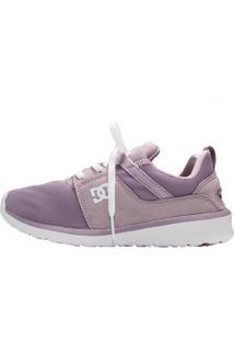 Tênis Dc Shoes Heathrow Imp Roxo