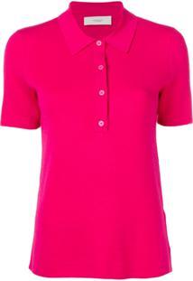 Pringle Of Scotland Camisa Polo Lisa - Rosa