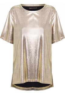 Blusa Feminina Nati - Dourado