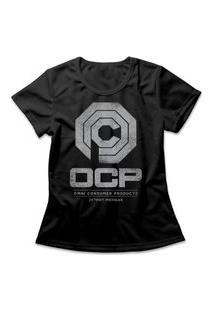 Camiseta Feminina Corporação Ocp Preto
