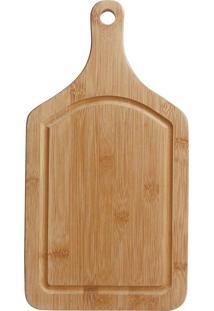 Tábua Para Corte Com Alça Bamboo 50Cmx30Cm Mor