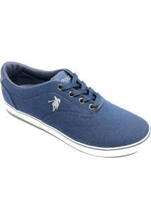 Tênis Casual Polo Ralph Lauren Psf Masculino - Masculino-Azul