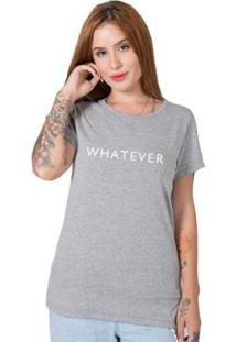 Camiseta Stoned Whatever Feminina - Feminino