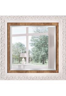 Espelho Decorativo Palermo 88X88 Cm Branco