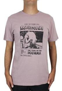 Camiseta Billabong Iggy Pop Iguana - Masculino