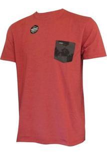 Camiseta Especial Swarm Hurley Masculina - Masculino-Vermelho