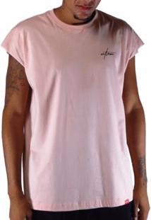 Camiseta Outlawz Sleeve Japanese Magenta