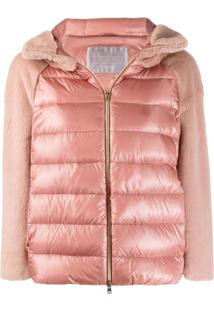 Herno Hooded Puffer Jacket - Rosa