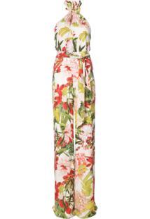 Josie Natori Macacão 'Paradise Floral' - Estampado