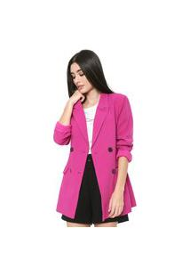 Blazer Colcci Alfaiataria Pink