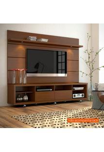 Painel Para Tv 60 Polegadas Horizon Castanho 218 Cm
