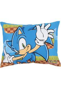 Fronha Avulsa Lepper Sonic 50 Cm X 70 Cm Azul - Azul - Menino - Dafiti