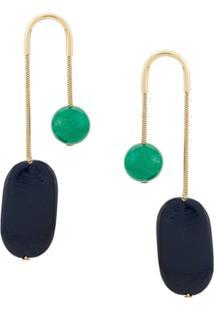 Isabel Marant Miss Drop Earrings - Azul