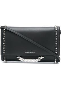 Alexander Mcqueen Small The Story Clutch - Preto