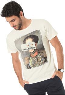 Camiseta Sergio K Viva La Recreacion Off-White