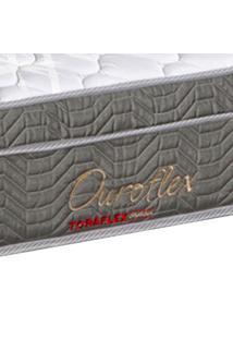 Cama Box Viúva Cinza + Colchão Molas Bonnel - Lucas Home - Ouroflex 128X188X60Cm