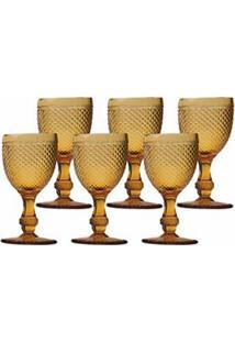 Conjunto De Taças Para Vinho Em Vidro 235 Ml Com 06 Peças - Bon Gourmet