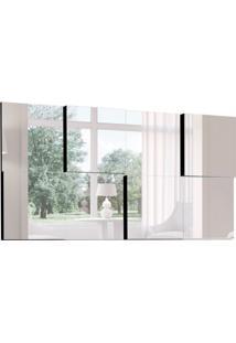 Espelho Decorativo Criative 136 X 68 Preto