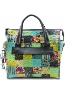 Bolsa Mikaela Clover Em Patchwork Original - Multicolorido - Feminino - Dafiti