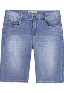 Bermuda Jeans Masculina Hering Em Moletom Denim