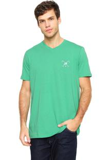 Camiseta Polo Play Bordado Verde
