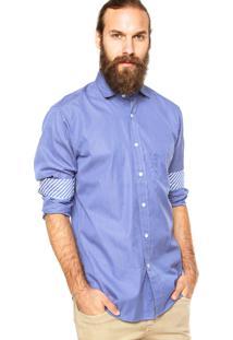 Camisa Nautica Listras Azul