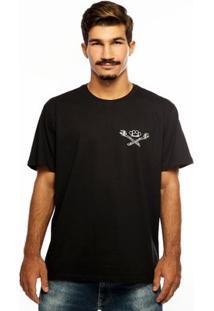 Camiseta Hardivision Mechanics Manga Curta - Masculino-Cinza